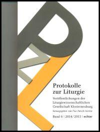 Cover_Protokolle zur Liturgie